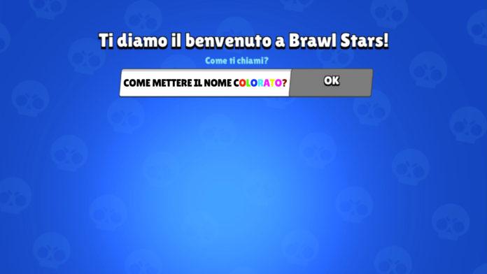Brawl Stars Come Mettere il Nome Colorato!